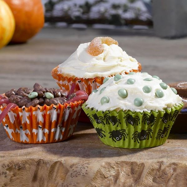Picture of Capsulas Cupcake Happy Halloween (100)
