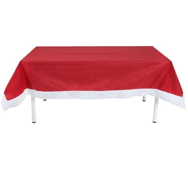 Imagens de Mantel rojo Navideño rectangular