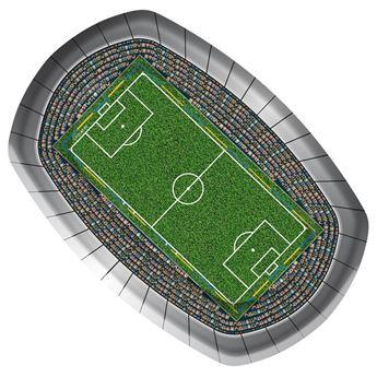 Imagens de Platos estadio de Fútbol 27cm (8)