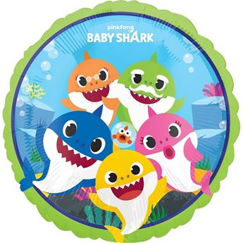 Picture of Globo Baby Shark redondo