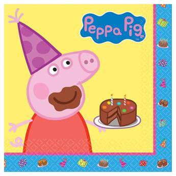Imagen de Servilletas Peppa Pig Tarta (16)