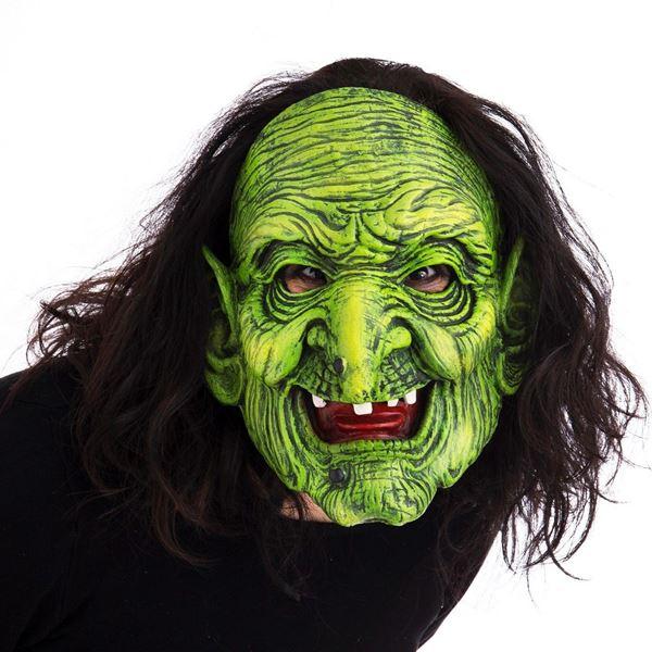 Imagen de Máscara bruja terrorífica