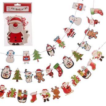 Imagen de Guirnalda navidad Infantil papel (2m)