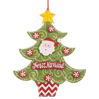 Imagens de Decorado Árbol Feliz Navidad cartón