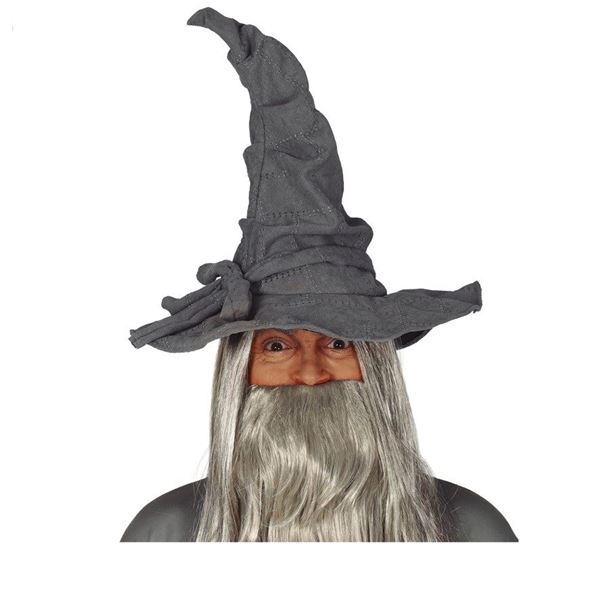Picture of Sombrero tela Mago gris