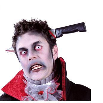 Imagen de Diadema cuchillo cabeza halloween