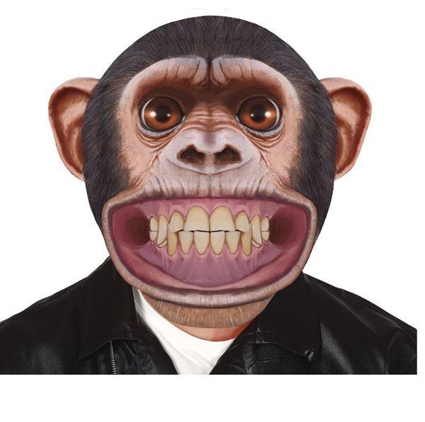 Imagens de Máscara chimpancé goma eva