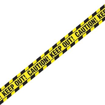 Imagen de Banderin Cinta Caution Keep Out (6m)