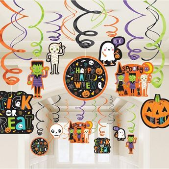 Picture of Decorados espirales Halloween Amigos (30)