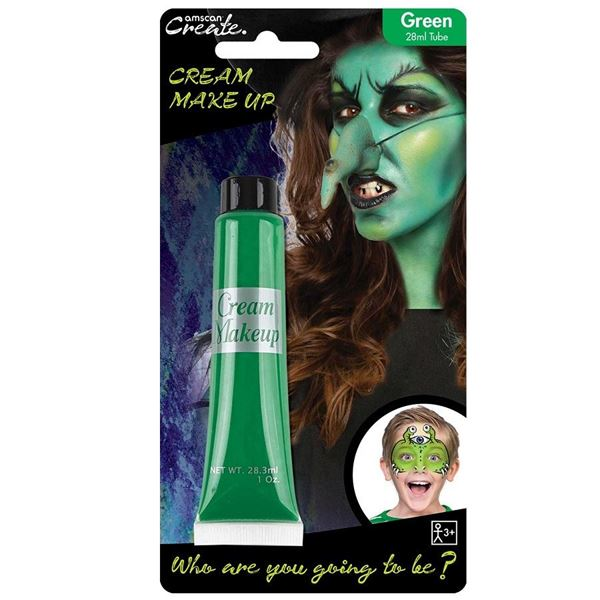 Picture of Maquillaje crema Verde tubo 28ml