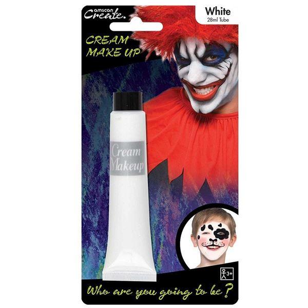 Imagens de Maquillaje crema blanca tubo 28ml