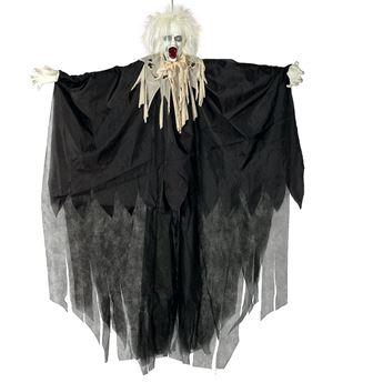 Imagen de Figura colgante zombie con pelo ( Luz)