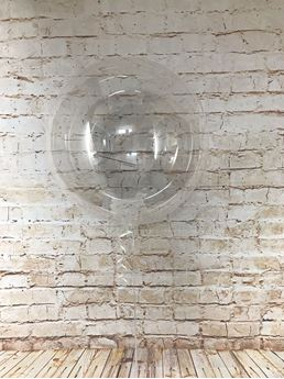 Imagen de Globo burbuja transparente plástico 45cm