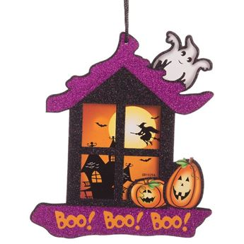 Picture of Troquelado casa Halloween infantil