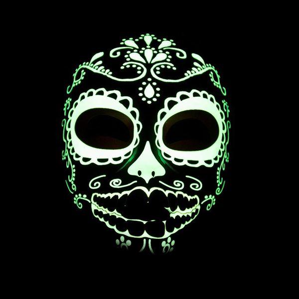 Imagen de Máscara Halloween Fluorescente