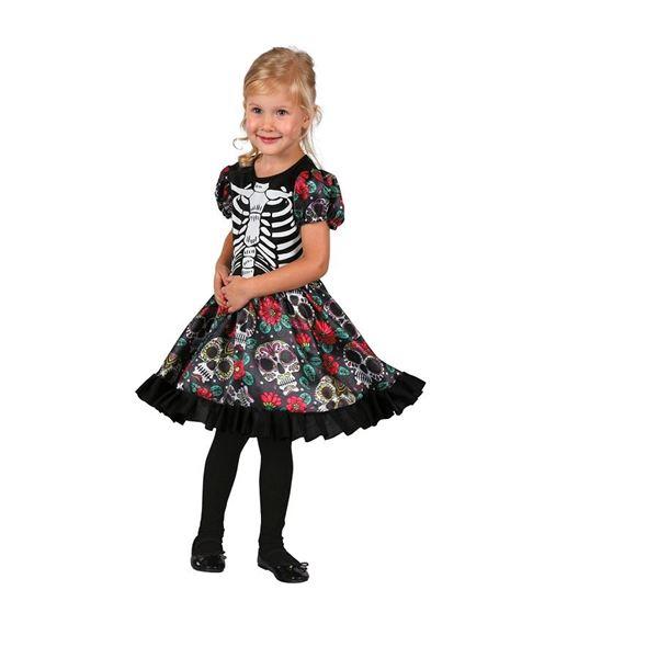Imagens de Disfraz niña Catrina (Talla 3-4 años)