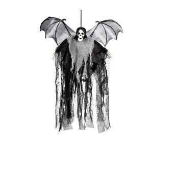 Imagen de Figura colgante calavera con alas