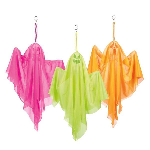 Imagens de Decorado colgante Fantasmas color (50cm)