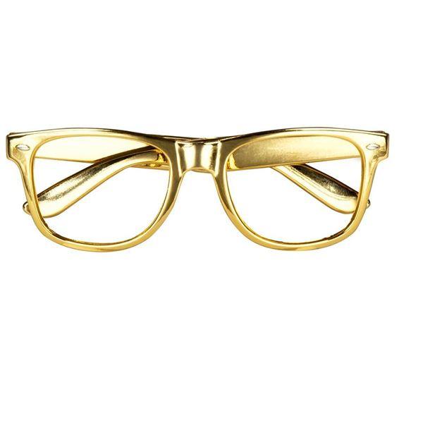 Picture of Gafas doradas sin cristal (3)