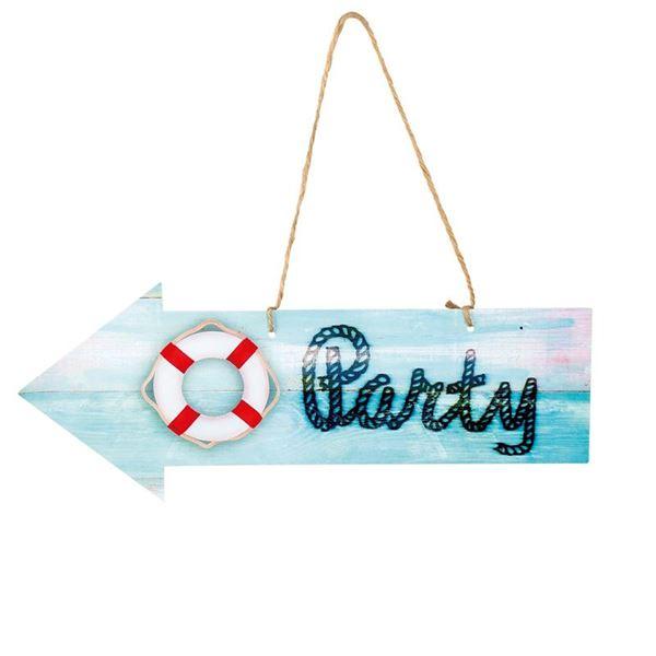 Imagens de Decorado cartel estilo marinero Party
