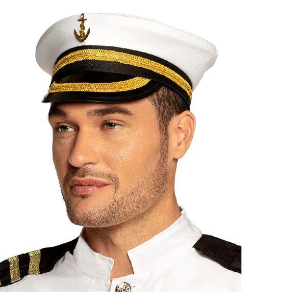 Imagens de Gorra capitán marinero adulto