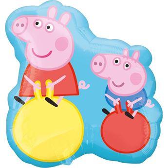 Imagen de Globo Peppa Pig y George grande