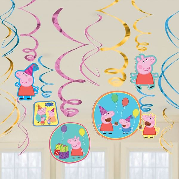 Picture of Decorados espirales Peppa Pig