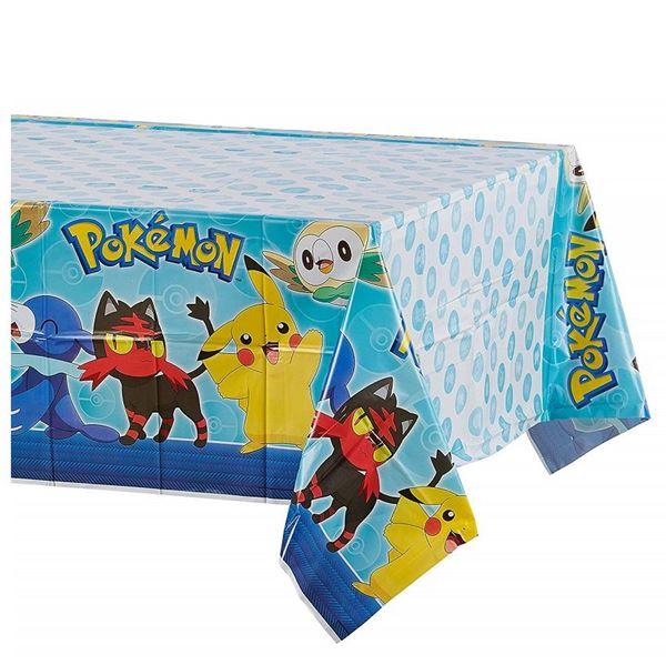 Imagens de Mantel Pokémon y amigos plástico