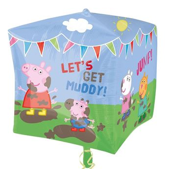 Picture of Globo Peppa Pig Cubo