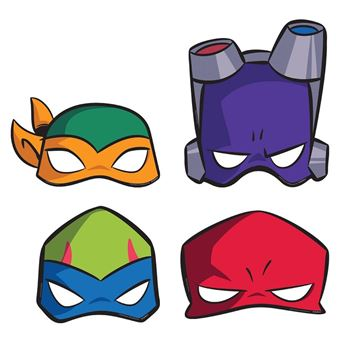 Picture of Caretas Tortugas Ninja papel (8)