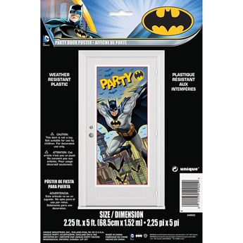 Picture of Decorado puerta Batman Fiesta