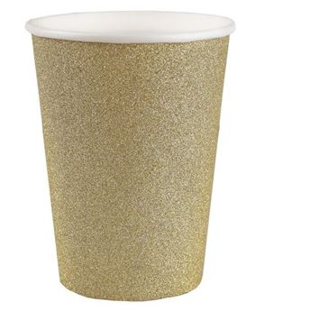 Picture of Vasos Dorados Glitter (10)