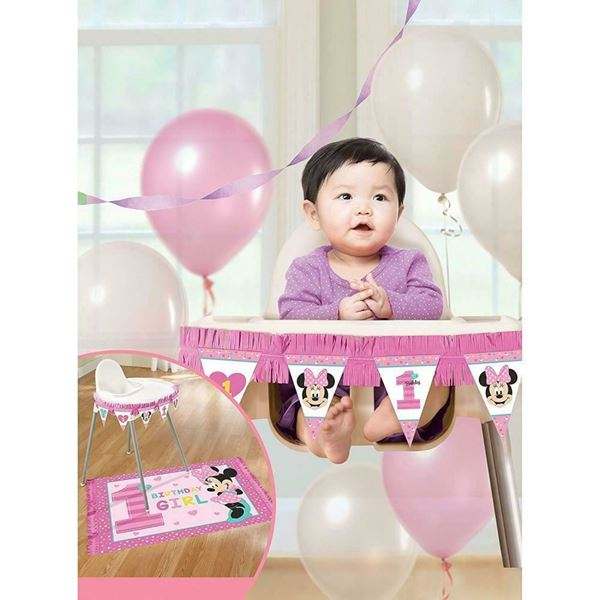 Imagen de Decoración silla Minnie Mouse primer cumple