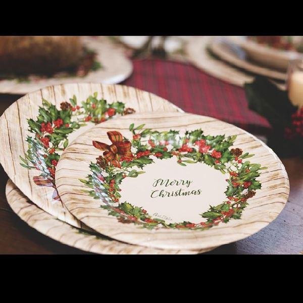 Imagens de Platos estilo rústico navideño (8)