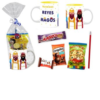 Picture of Taza reyes magos con chuches