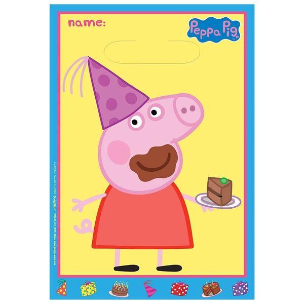 Imagen de Bolsas Peppa Pig Tarta (8)