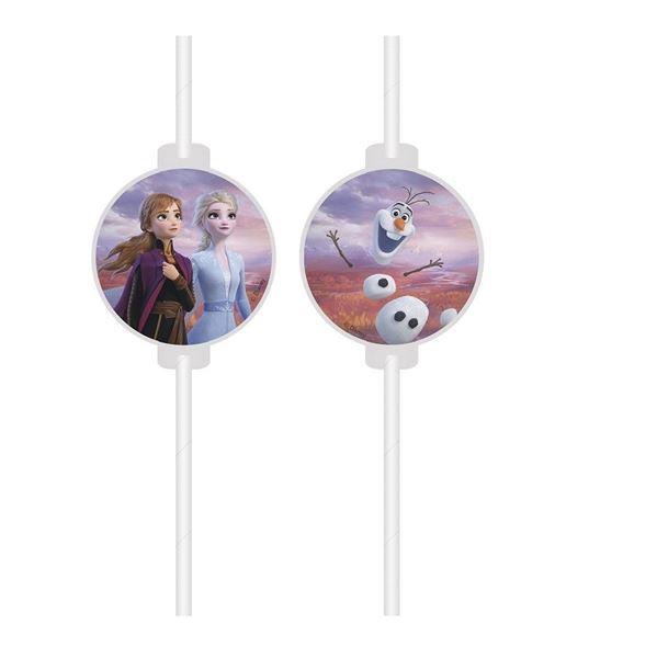 Imagens de Pajitas Frozen 2 Disney papel (4)