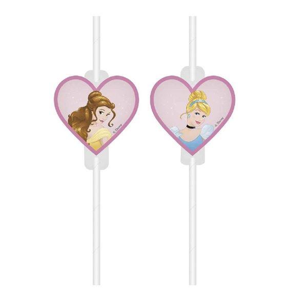 Picture of Pajitas Princesas Disney papel (4)
