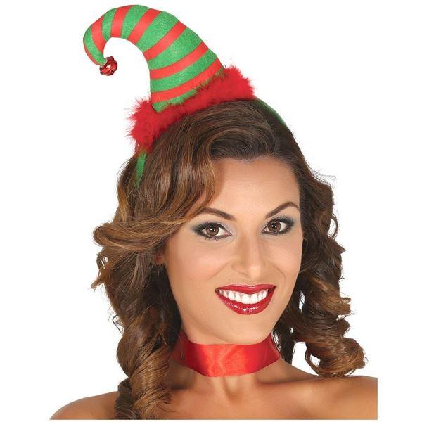 Imagens de Diadema gorro Elfo navideño
