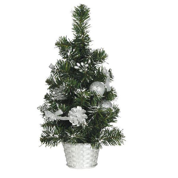 Imagens de Árbol de Navidad Plata 40cm