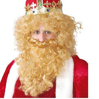 Imagen de Accesorio barba y peluca Rey mago