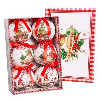 Imagen de Adorno bolas navideñas infantiles (6)