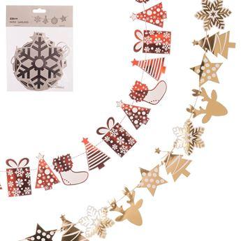 Imagen de Guirnalda navidad Infantil papel surtida