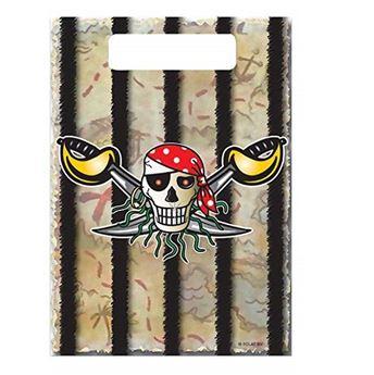 Imagen de Bolsas de chuches Pirata Rojo (8)