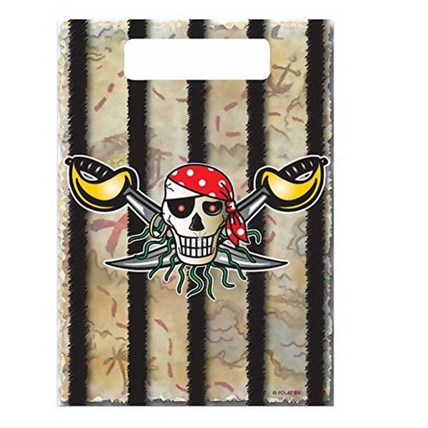 Picture of Bolsas de chuches Pirata Rojo (8)