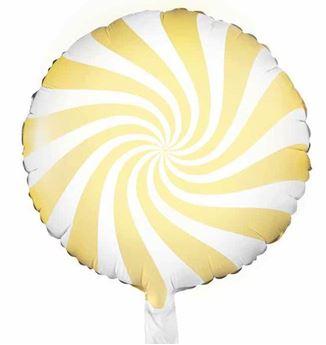 Picture of Globo Caramelo Amarillo claro