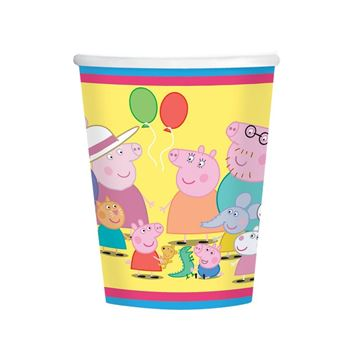 Picture of Vasos Peppa Pig Tarta (8)