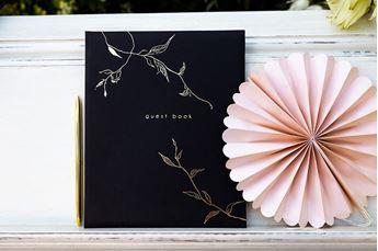 Imagen de Libro firmas de invitados boda (Negro)