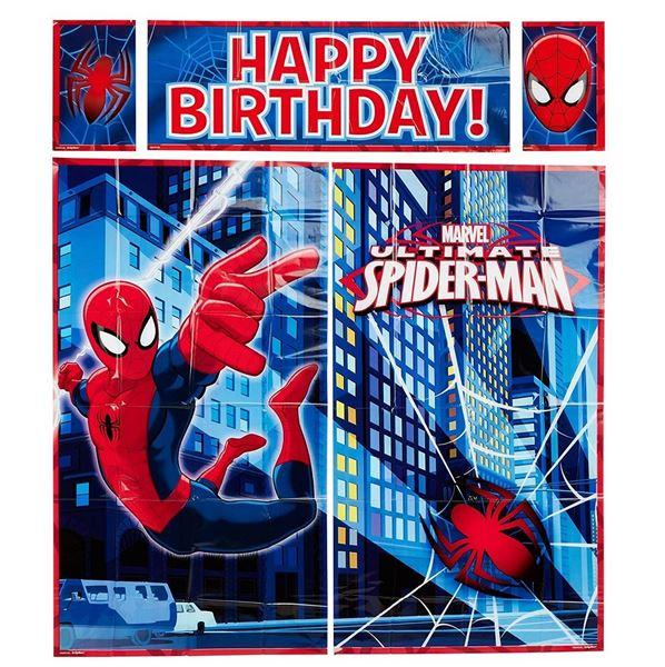 Imagens de Fondo Photocall Spiderman