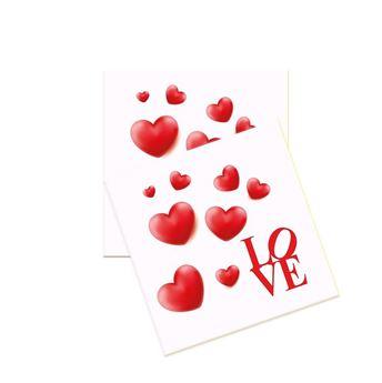 Imagen de Servilletas Love corazones (20)
